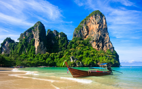 Railay Beach, Thaïlande